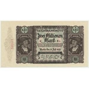 Niemcy, 2 miliony marek 1923