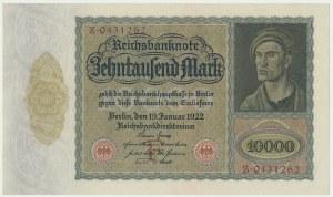 Niemcy, 10.000 marek 1922
