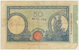 Italy, 50 lire 1926