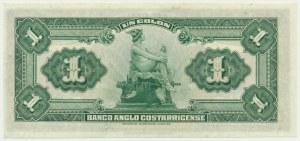Kostaryka, 1 kolon 1917