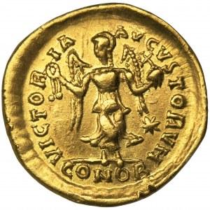 Roman Imperial, Theodosius II, Tremissis