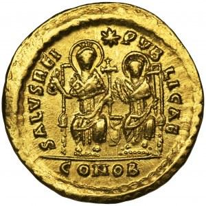 Cesarstwo Rzymskie, Teodozjusz II, Solidus