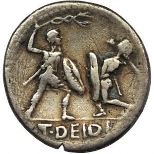 Roman Republic, T. Didius, Denarius - RARE