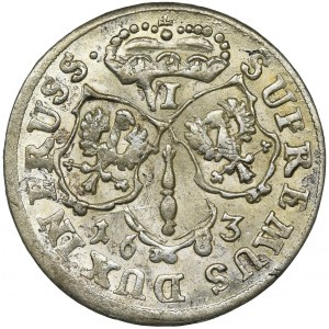 Niemcy, Brandenburgia-Prusy, Fryderyk Wilhelm, Szóstak Królewiec 1683 HS