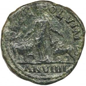Rzym prowincjonalny, Moesia Superior, Viminacjum, Filip I Arab, Brąz - NIENOTOWANY