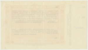 Sosnowiec, 1 rubel 1914