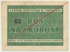 Tarnów, Ludwik Stefański, 2 korony - RZADKI