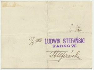 Tarnów, Ludwik Stefański, 2 korony - niekasowany