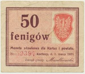 Kartuzy, 50 fenigów 1920