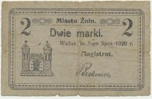 Żnin, 2 marki 1920