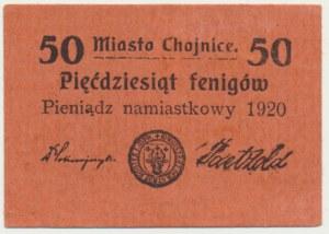 Chojnice, 50 fenigów 1920