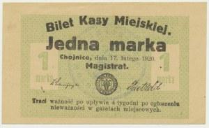 Chojnice, 1 marka 1920