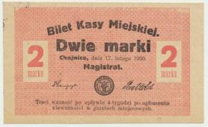 Chojnice, 2 marki 1920 -