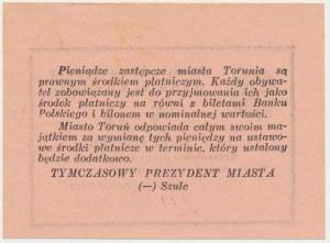 Toruń, 5 złotych 1939 - RZADKI