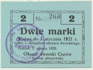 Gutów, 2 marki 1921