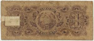 Gwatemala, 1 peso (1900-21)