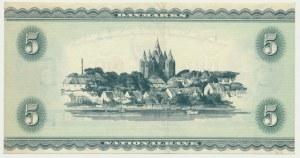 Denmark, 5 kroner 1936