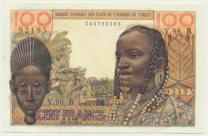 Senegal (West Africa), 100 francs 1961