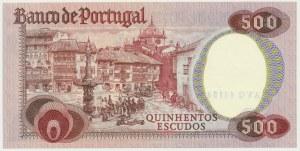 Portugal, 500 escudos 1979