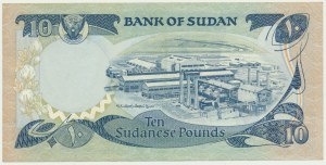 Sudan, 10 pounds 1981