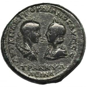 Rzym Prowincjonalny, Moesia Inferior, Tomis, Gordian III i Trankwilina, Tetrassarion