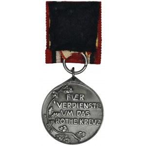 Niemcy, Prusy, Medal Czerwonego Krzyża Trzeciej Klasy - cynk