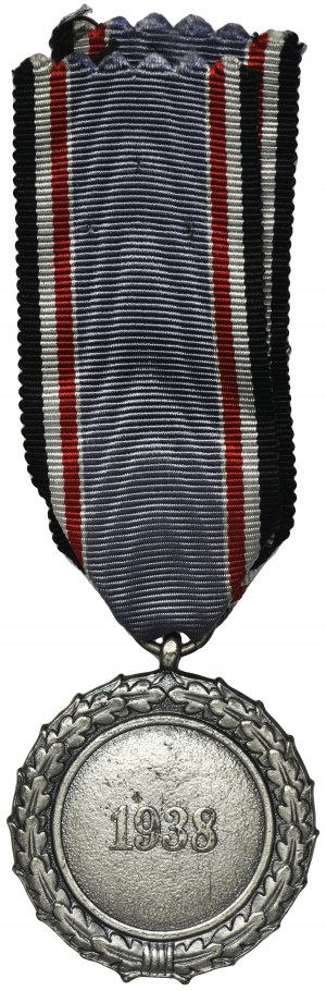 Niemcy, III Rzesza, Medal Obrony Przeciwlotniczej Drugiej Klasy - znakowany Souval L/58