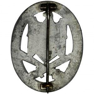 Niemcy, III Rzesza, Odznaka Szturmu Ogólnego ASA z miniaturką