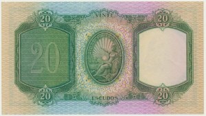 Portugal, 20 escudos 1941