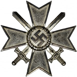 Germany, III Reiche, War Merit Cross 1st Class with Swords - unsigned