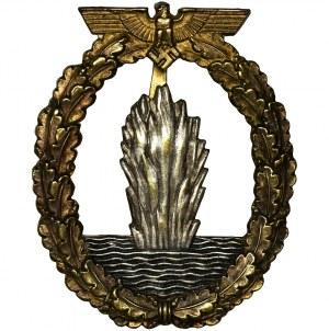 Niemcy, III Rzesza, Kriegsmarine, Odznaka wojenna Sapera