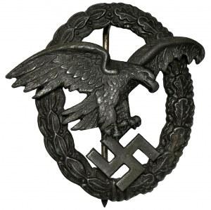 Niemcy, III Rzesza, Luftwaffe, Odznaka Obserwatora - Assmann
