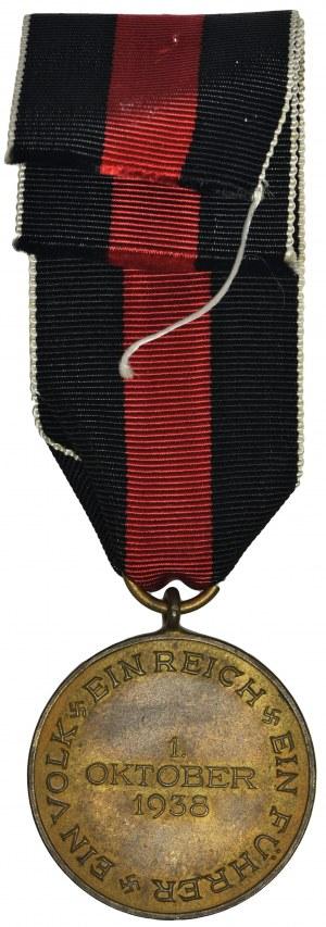 Niemcy, III Rzesza, Medal Pamiątkowy 1.10.1938 - aneksja Sudetów