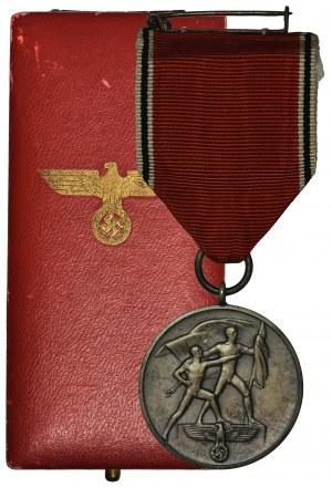 Niemcy, III Rzesza, Medal Pamiątkowy 13.03.1938 - aneksja Austrii - w pudełku
