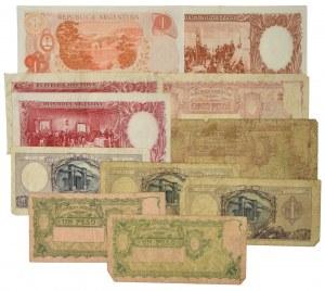 Argentyna, zestaw 1 - 100 pesos (11 szt.)