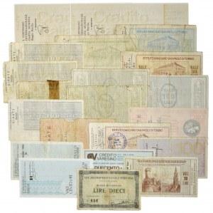 Italy, set of mix banknote (22 pcs.)