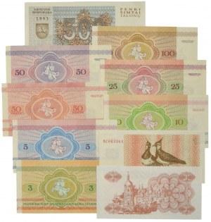 Bielarus, Ukraine, set of 1-500 kopecks and rubles (10 pcs.)