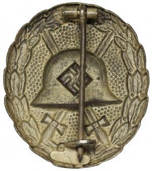 Niemcy, III Rzesza, Odznaka Za Rany 1939 Srebrna - wytłoczka