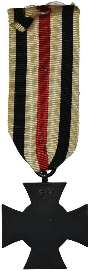 Niemcy, Krzyż za Wojnę Światową 1914-1918 - czarny bez mieczy