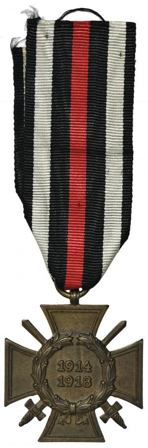 Niemcy, Krzyż za Wojnę Światową 1914-1918 - wersja z mieczami