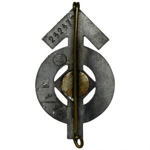 Niemcy, III Rzesza, Odznaka Biegłości Hitlerjugend - czarna