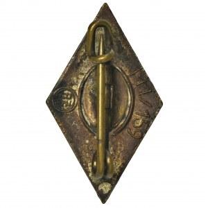 Niemcy, III Rzesza, Odznaka Hitlerjugend - RZM M1/159