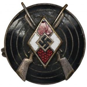 Niemcy, III Rzesza, Hitlerjugend - Odznaka Strzelecka