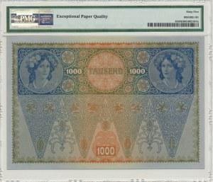 Austria, 1.000 koron 1902 - PMG 65 EPQ