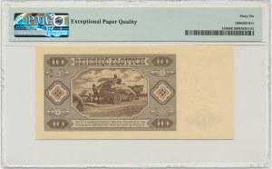 10 złotych 1948 - AY - PMG 66 EPQ