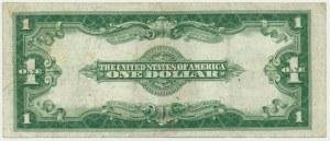 USA, 1 dolar 1923 SILVER CERTIFICATE - niebieska pieczęć