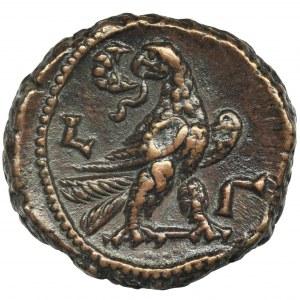 Rzym Prowincjonalny, Egipt, Aleksandria, Klaudiusz II Gocki, Tetradrachma bilonowa