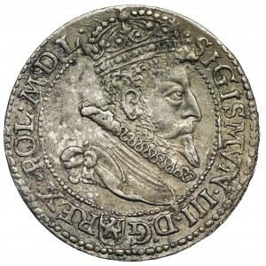 Zygmunt III Waza, Szóstak Malbork 1599 - mała głowa