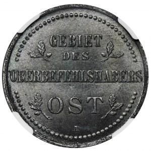 Ost, 3 Kopiejki Berlin 1916 A - NGC MS63