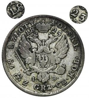 Królestwo Polskie, 1 złoty polski Warszawa 1823 IB - RZADKI